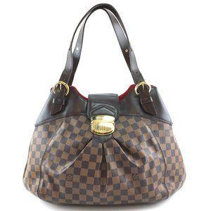 Shoulder Sistina Gm Flap Lock Damier Hobo Bag